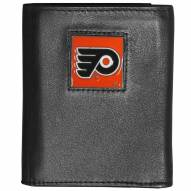 Philadelphia Flyers Deluxe Leather Tri-fold Wallet