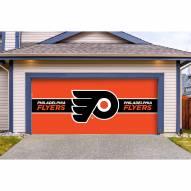 Philadelphia Flyers Double Garage Door Cover