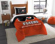 Philadelphia Flyers Draft Twin Comforter Set