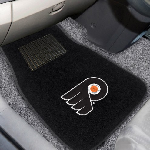 Philadelphia Flyers Embroidered Car Mats