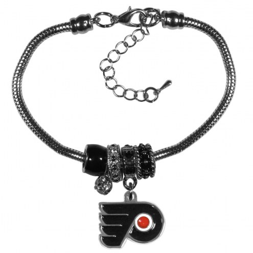 Philadelphia Flyers Euro Bead Bracelet