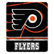 Philadelphia Flyers Fade Away Fleece Blanket