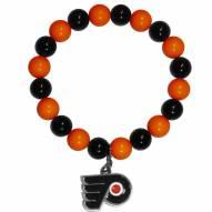 Philadelphia Flyers Fan Bead Bracelet