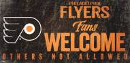 Philadelphia Flyers Fans Welcome Sign