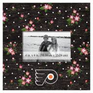 "Philadelphia Flyers Floral 10"" x 10"" Picture Frame"