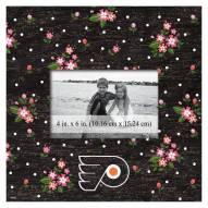 "Philadelphia Flyers Floral 10"" x 10"" Picture Frame"