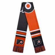 Philadelphia Flyers Colorblock Big Logo Scarf