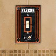 Philadelphia Flyers Glass Single Light Switch Plate Cover