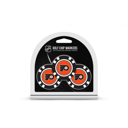 Philadelphia Flyers Golf Chip Ball Markers