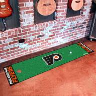 Philadelphia Flyers Golf Putting Green Mat
