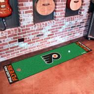 Philadelphia Flyers Golf Putting Green Mat