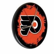 Philadelphia Flyers Digitally Printed Wood Clock
