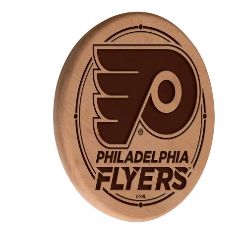 Philadelphia Flyers Laser Engraved Wood Sign