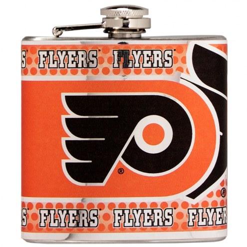 Philadelphia Flyers Hi-Def Stainless Steel Flask