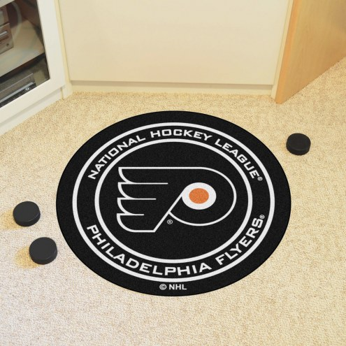 Philadelphia Flyers Hockey Puck Mat