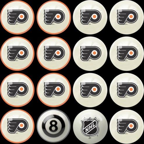 Philadelphia Flyers Home vs. Away Pool Ball Set