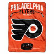 Philadelphia Flyers Inspired Plush Raschel Blanket