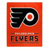 Philadelphia Flyers Interference Raschel Blanket