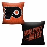 Philadelphia Flyers Invert Woven Pillow
