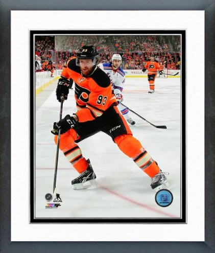 Philadelphia Flyers Jakub Voracek Action Framed Photo