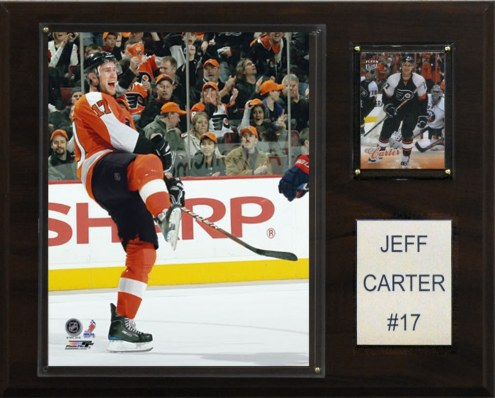 "Philadelphia Flyers Jeff Carter 12"" x 15"" Player Plaque"