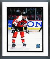 Philadelphia Flyers John LeClair 1990 Action Framed Photo