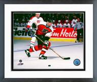 Philadelphia Flyers John Leclair Action Framed Photo