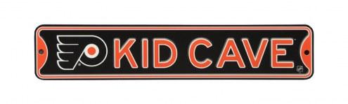 Philadelphia Flyers Kid Cave Street Sign