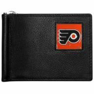 Philadelphia Flyers Leather Bill Clip Wallet