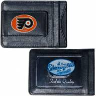 Philadelphia Flyers Leather Cash & Cardholder