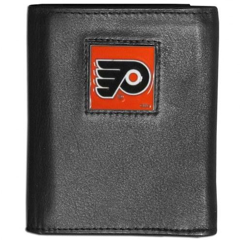 Philadelphia Flyers Leather Tri-fold Wallet