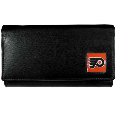 Philadelphia Flyers Leather Women's Wallet