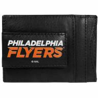 Philadelphia Flyers Logo Leather Cash and Cardholder