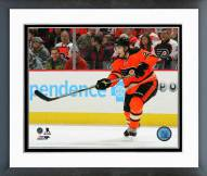 Philadelphia Flyers Luke Schenn Action Framed Photo