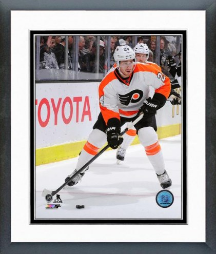 Philadelphia Flyers Matt Read Action Framed Photo