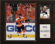 "Philadelphia Flyers Mike Richards 12"" x 15"" Player Plaque"
