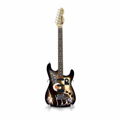 Philadelphia Flyers Mini Collectible Guitar