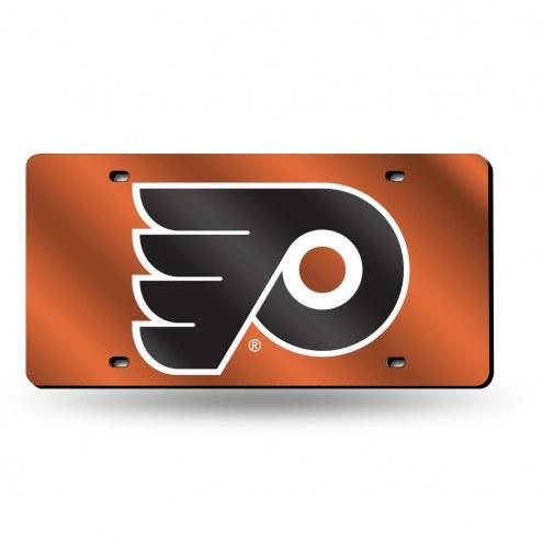 Philadelphia Flyers NHL Laser Cut License Plate