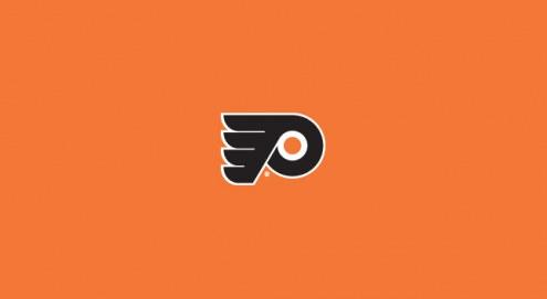 Philadelphia Flyers NHL Team Logo Billiard Cloth
