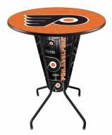 Philadelphia Flyers Indoor Lighted Pub Table