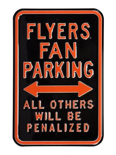 Philadelphia Flyers Penalized Parking Sign