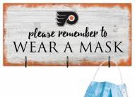 Philadelphia Flyers Please Wear Your Mask Sign