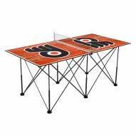 Philadelphia Flyers Pop Up 6' Ping Pong Table