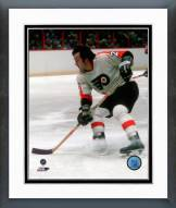 Philadelphia Flyers Reggie Leach Action Framed Photo