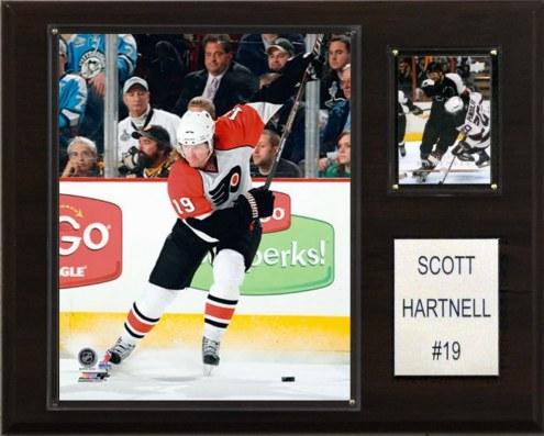 "Philadelphia Flyers Scott Hartnell 12"" x 15"" Player Plaque"