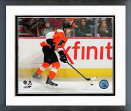 Philadelphia Flyers Sean Couturier Action Framed Photo