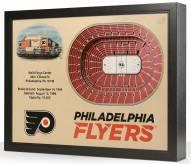 Philadelphia Flyers 25-Layer StadiumViews 3D Wall Art