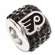 Philadelphia Flyers Sterling Silver Charm Bead