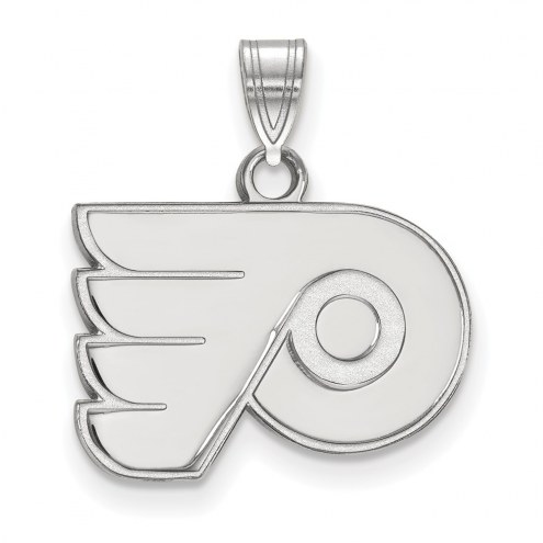 Philadelphia Flyers Sterling Silver Small Pendant
