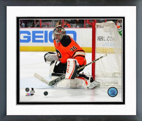 Philadelphia Flyers Steve Mason Action Framed Photo
